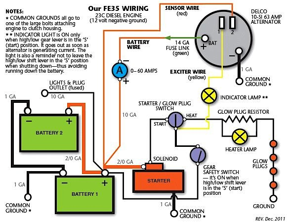 car alternator wiring diagram with Tractor on Wiringthing furthermore Noisy Ac  pressor Repair Pulley Bearing as well Marinee10 together with Designing A Microcontroller Driven Alternator Voltage Regulator besides Starter Faqs.
